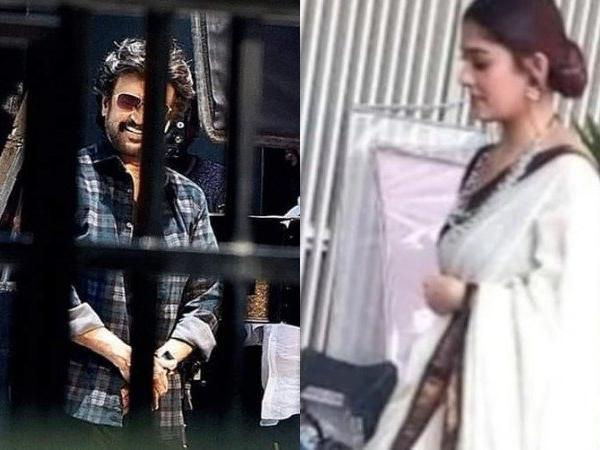 Rajinikanth and Nayanthara's pics leader from set of Darbar, check it out here