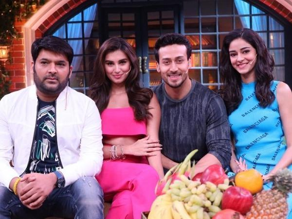 Tiger Shroff, Ananya Panday and Tara Sutaria to grace The Kapil Sharma Show
