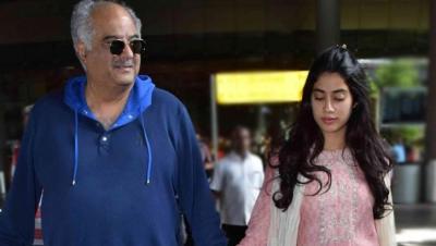 Here's what Janhvi Kapoor's dad Boney Kapoor thinks of her rumoured BF Ishaan Khatter