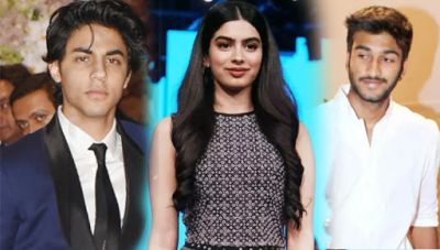 Not Aryan Khan nor Mizzan but Khushi Kapoor wants to make debut with this handsome