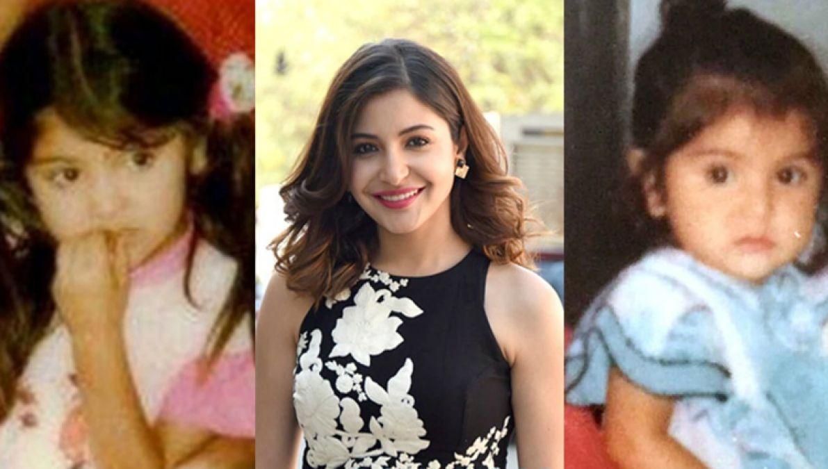Throwback pics of Anusha Sharma's childhood made fans nostalgic