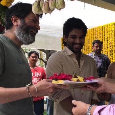 Allu Arjun reveals  interesting details about his next with Trivikram Srinivas