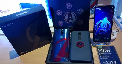 Good news for Avengers Fans: Oppo F11 Pro Marvel's Avengers limited edition first sale on this day