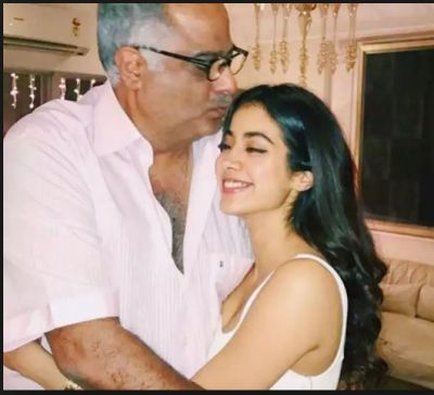 Janhvi Kapoor shared his father Boney Kapoor's reaction on her dating life