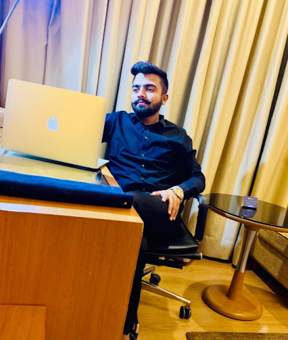 Naman Panchori, a classic example of Young Entrepreneur