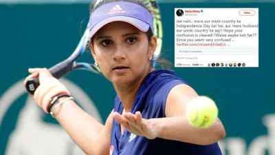 Sania Mirza replies to trollers on questioning her about Independence Day
