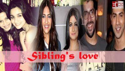 Bollywood Celebs setting major sibling goals