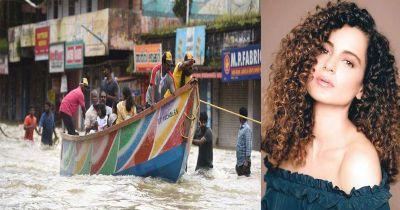 Kangana Ranaut donates for Kerala flood victims
