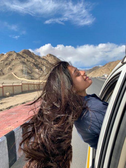 Meet the mountain lover, Brinda Sharma, whos making her way through the