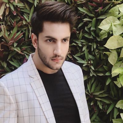 Nischay Ralhan — All set to make his first debut as the lead actor in a web series 'Hysteric'.