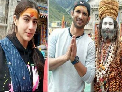 Sara Ali Khan and Sushant Singh Rajput took the blessing of Lord Kedarnath