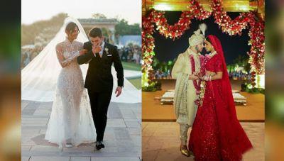 Priyanka Chopra Nick Jonas Wedding: Check out the first look of the newlyweds as Hindu bride and groom