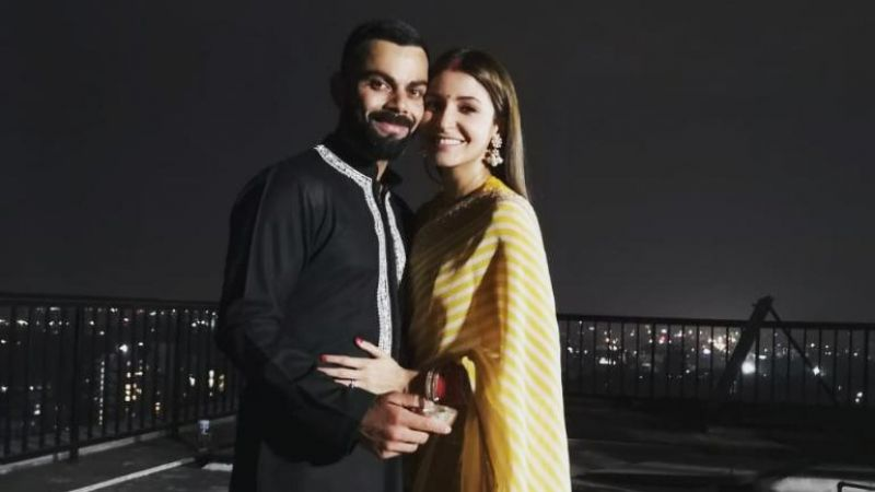 Virat Kohli's Karva Chauth wish for wife Anushka becomes most liked tweet of 2018