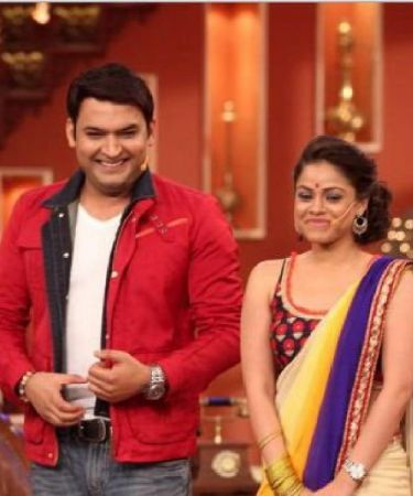 Sumona Chakravarti shares inauguration photo before the shooting from the sets of The Kapil Sharma Show