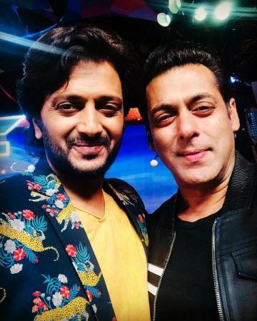 Bigg Boss 12: Riteish Deshmukh and Salman Khan are set to tickle your funny bones