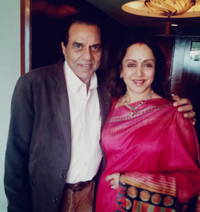 Hema Malini wishes a very happy birthday her everlasting love