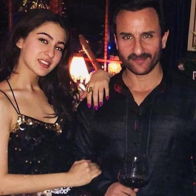 Sara Ali Khan reveals she doesn't often talk about films with father Saif Ali Khan