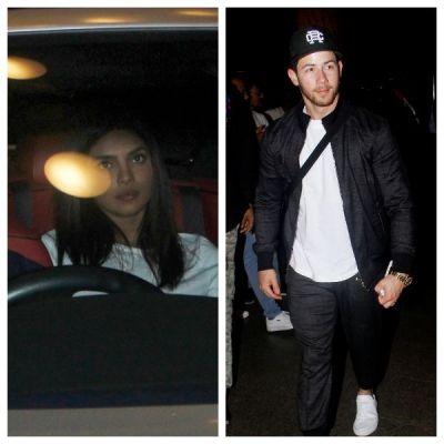 See pics- Priyanka Chopra looks so sad  while dropping off husband Nick Jonas at the airport
