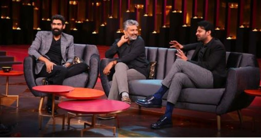Prabhas reveals about his relationship with Anushka Shetty in Koffee With Karan, read here