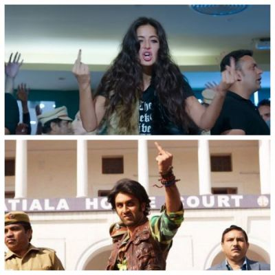 Zero: Katrina Kaif shows Middle fingure to the crowd in Heer Badnam, it will reminded you of Ranbir Kapoor