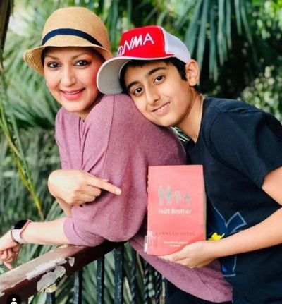 Sonali Bendre and her son Ranveer collabrate for this new venture