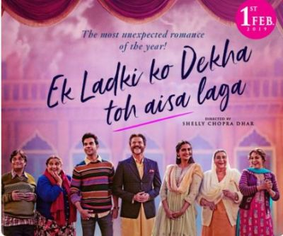 New poster of Ek Ladki Ko Dekha Toh Aisa Laga out, check out the star cast all smiles