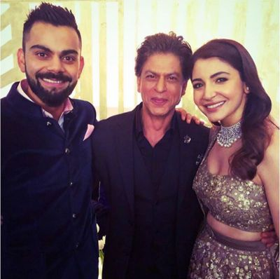Did you miss this special Bhangra dance of SRK with Anushka and guess what Virat accompanied them