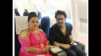 Bharti Singh enjoyed alot her alone time with Hubby