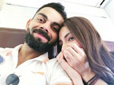 Virat Kohli shares a cute photo with his wifey Anushka Sharma which will give you couple goals