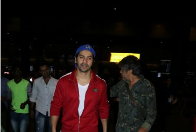 Photo! Varun Dhawan returns from Hong Kong, After unveiling his statue at Madame Tussauds