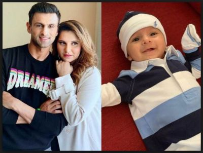 Sania Mirza's celebrates her baby Izhaan 3 months birthday.. check pics inside