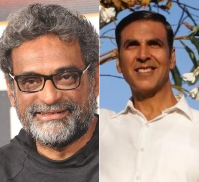 R Balki on Akshay Kumar says,