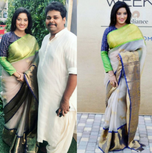 'Diya Aur Baati Hum' actress spotted with Baby Bumps at LFW
