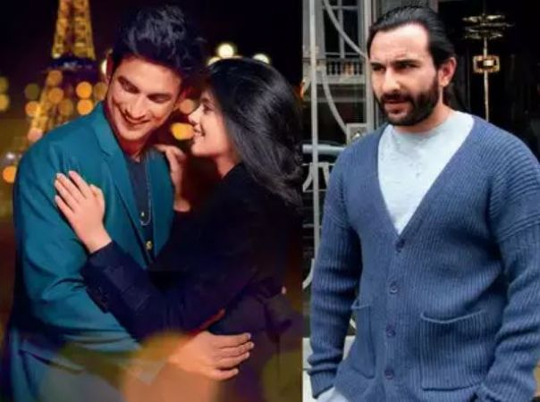 Saif Ali Khan to do a cameo in Sushant Singh Rajput's Dil Bechara