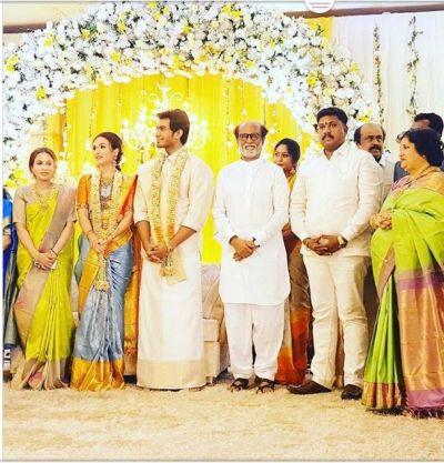 Rajinikanth's younger daughter Soundarya's pre-wedding function clicks breaking out internet …..check out here