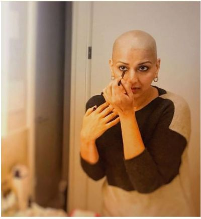 Beauty and brave Sonali Bendre shares a beautiful message with a pic……check inside