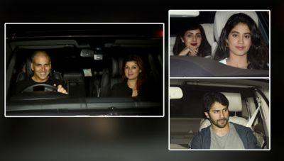Varun, Arjun, Sridevi and other celebs spotted at 'PadMan' special screening