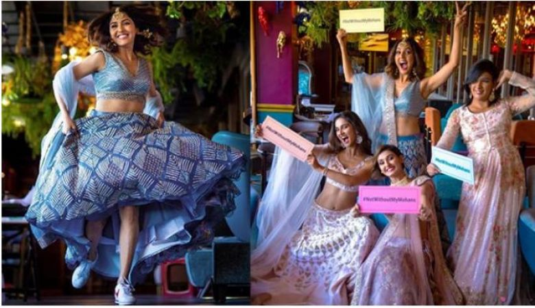 Neeti Mohan and sisters bachelorette trip unseen pics and video leak out ….have a look