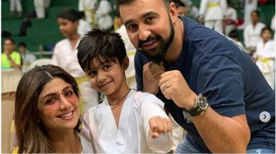Shilpa Shetty and Raj Kundra's son Viaan win Gold Medal in Martial Arts, dedicated to Tiger Shroff