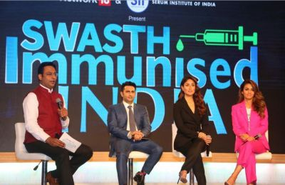 Kareena Kapoor Khan launched the Swasth Immunised India Campaign in a boss avtar..pics inside