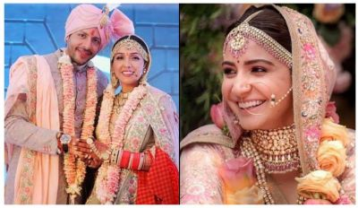 Neeti Mohan wear exactly same bridal lehnga as Anushka wore ….check out here