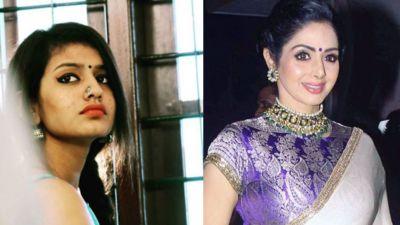 Priya Prakash Varrier pays tribute to Sridevi, watch Video