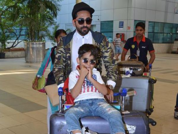 Ayushmann Khurrana's cute birthday post for his son Virajveer will make you go aww