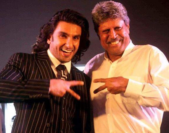 Ranveer Singh is to be trained by Kapil Dev for Biopic  83