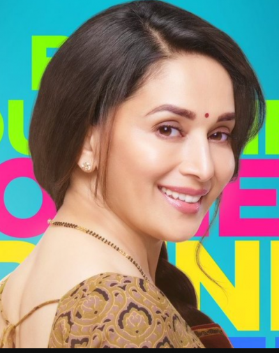 Madhuri Dixit share first look of her debut Marathi film 'Bucket List'