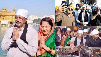 Nana Patekar visits Golden Temple in Amritsar
