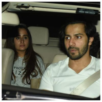 Varun Dhawan and Natasha Dalal spotted on a date night, see pictures here