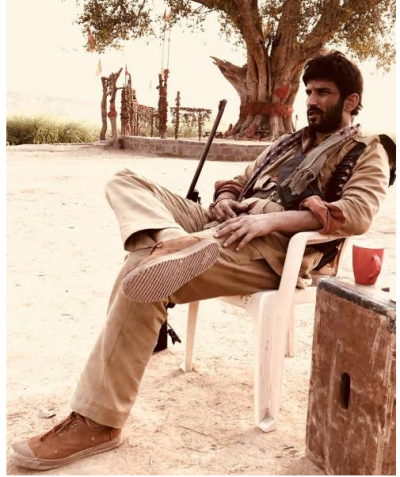 First Look: Sushant Singh Rajput's in his upcoming movie 'Son Chiriya' which will remind you of 'Gabbar Singh'