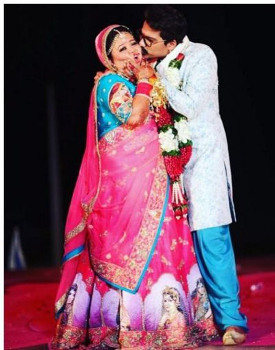 Bharti Singh shares a series of pics on a occasion of her hubby birthday…..have a look here