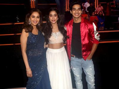 Photos: Janhvi Kapoor, and Ishaan Khattar visited Dance Deewane's set